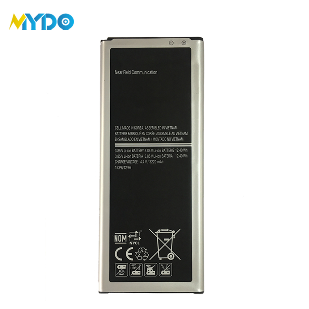 New Original 3220 mAh NFC Battery For Samsung Galaxy Note 4 phone N9100 Battery