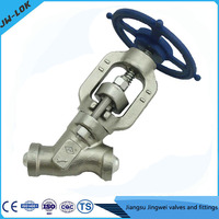 forged Y type ss 316 globe valve 4500lb