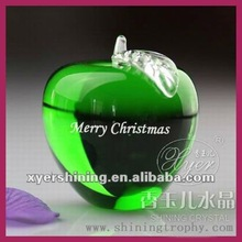 crystal green apple for christmas