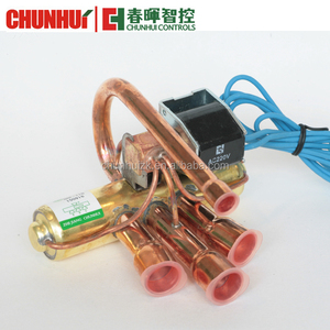 4-way reversing valve for home air conditioner