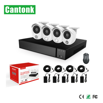 Cantonk 1080P security alarm system camera smart home kit