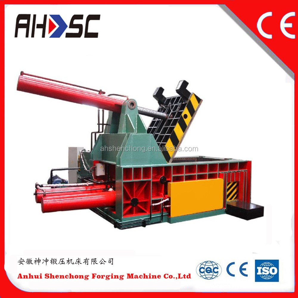 Y81T-1600B Push out type in stock scrap metal tire wire recycling baler (Factory price)