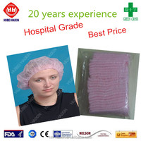 bulk disposable hair nets cap