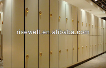hpl phenolic resin compact laminate board gym lockers room furniture