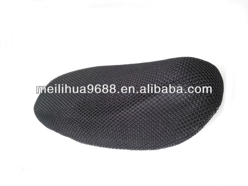 100% Polyester Heat Proof Durable Waterproof Breathable Motorcycle Seat Cover