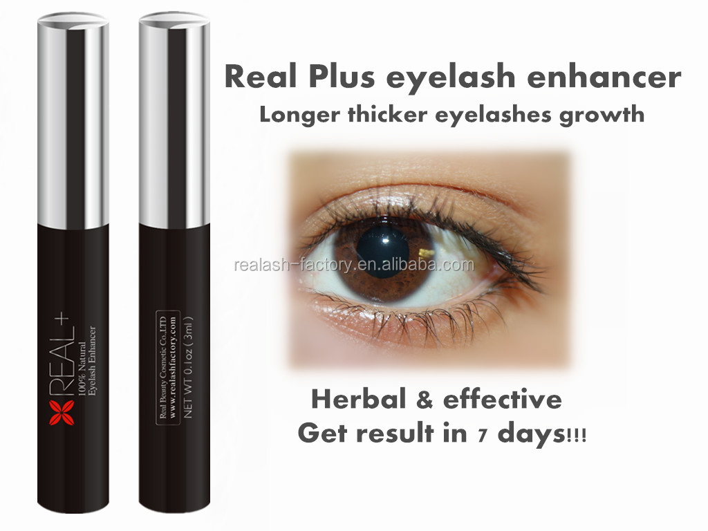 New brand real plus eyelash enhancer, long thick eyelash enhancer serum/ liquid, fashion era of FEG