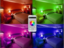 new product music blub bluetooth led light bulb speaker phone app 3 in 1