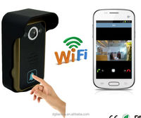 Hot selling Android and IOS mobile device wifi intercom system video door phone