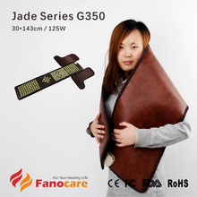 Jade Series G350 Fanocare far infrared ray heated mattress multifunction thermal jade feet dome