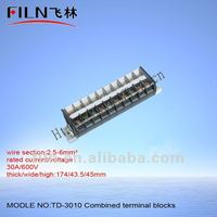 neutral link combined terminal block TD-3010