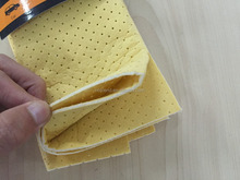 synthetic chamois car cleaning sponge/cloth