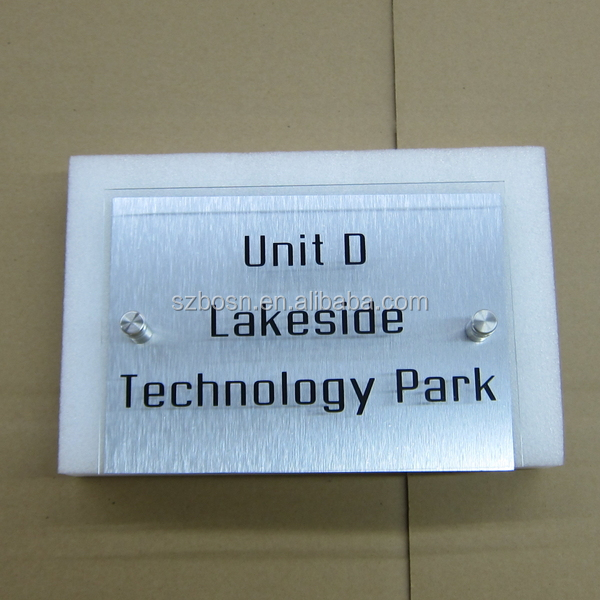 Customized Acrylic House Number Sign/Door Number Sign/Perspex Plaque