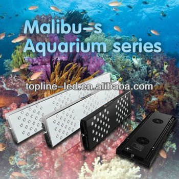 New Malibu S modles programmable 3 watt led aquarium lights
