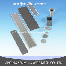 Hebei anping hot sale stainless steel 316 filter screen mesh