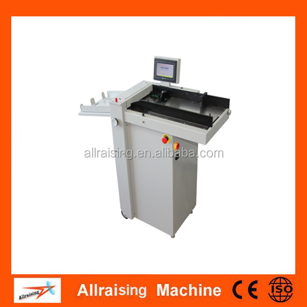 New style automatic program control creasing machine