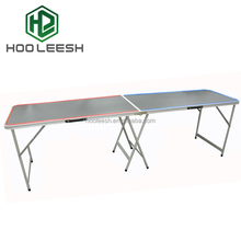 Hot Selling 8-Foot table folding with metal folding legs