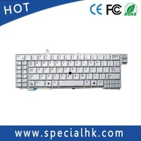 UK Layout Replacement Laptop Keyboard For Samsung NP-X1 With Pointer Silver