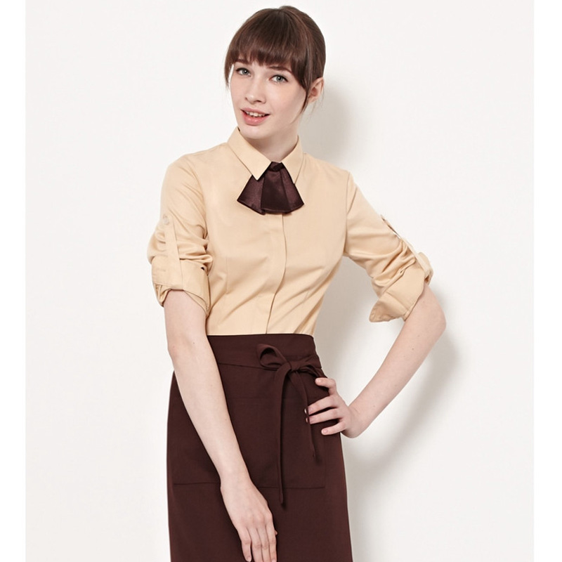 2016 Fashion Restaurant Coffee Workwear Hotel Waitress Uniforms