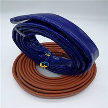 High performance acrylic coated braided fiberglass sleeving new product