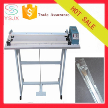 Pedal control film cutting side sealing polythene bag making machine