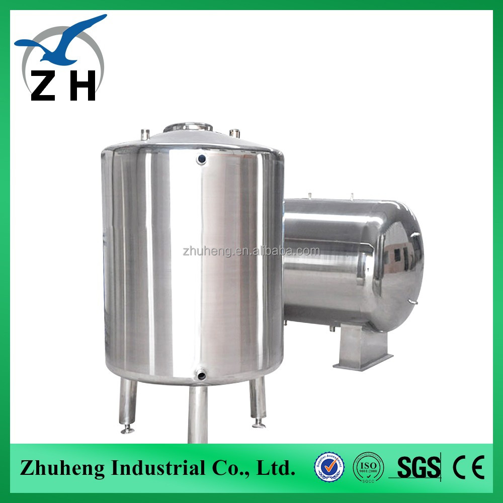 Vertical or horzontal hydrochloric acid storage tank with heating