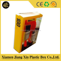 Custom transparent plastic Cellphone Case Packaging box