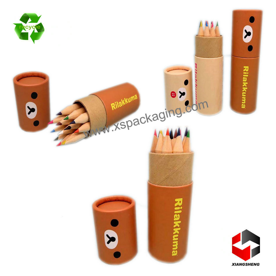 recycle custom luxury kraft paper tube