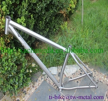 Titanium Mountain bike frame with 142x12 dropouts XACD made Titanium bicycle frame for MTB cycling Ti MTB bike frame with 29er