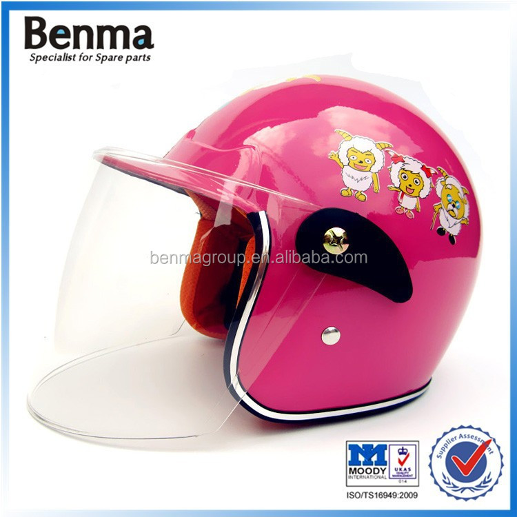 Kids helmet for motorcycle riding , cute kids helmet ,half helmet for kids