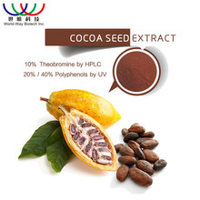 Factory price cocoa powder low fat , hot sale cocoa polyphenol extract