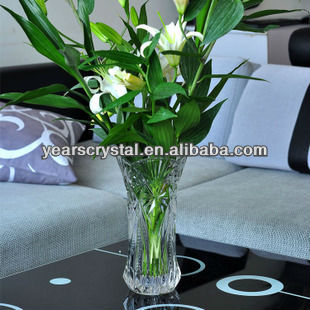 New Arrival crystal tall flower vases(R-1470