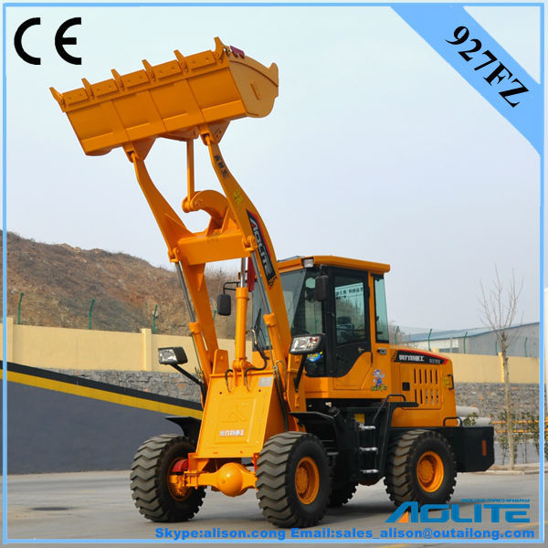 AOLITE 927FZ mini loader with 23.5/70-16 tyre size