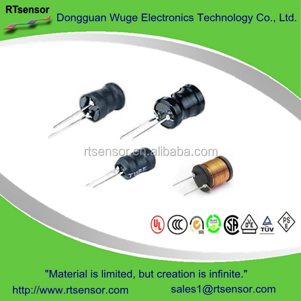 Radial Leaded Single Layer Choke Coil DR Power Filter Inductor For Limiting Alternating Current