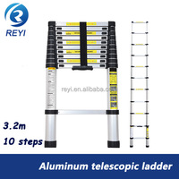 Foldable easy store step ladder 10 steps