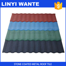 hot sale & high quality roof tile blue color eco shingle Customized