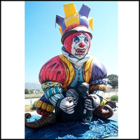 NB-CT20689 colorful giant inflatable evil clown for advertising