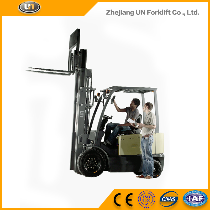 China Wholesale Most Popular Four Wheeler 2.5T Mini Electric Forklift