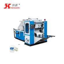 Hengxin hand towel wipe paper N folding making machine in facotry price