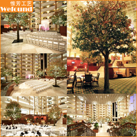 MT151210 WEFOUND artificial wedding decoration maple tree
