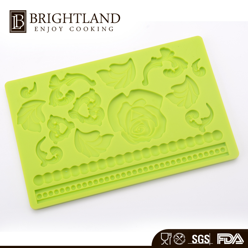 3D Cake Lace Silicone Mold Cake Decorating Tools