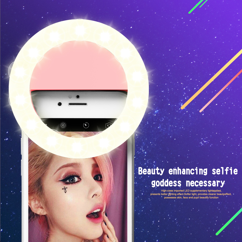 New Arrival 2-in-1 Phone Holder Stand With Microphone Holder Selfie Ring Light For Live Stream Adjustable Long Arm Desk Stand