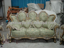 Antique reproduction french furniture , Pictures wood sofa furiture 3074#