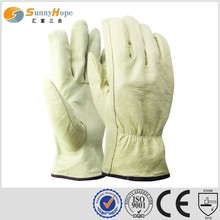 fashion cowhide driving truck driver gloves