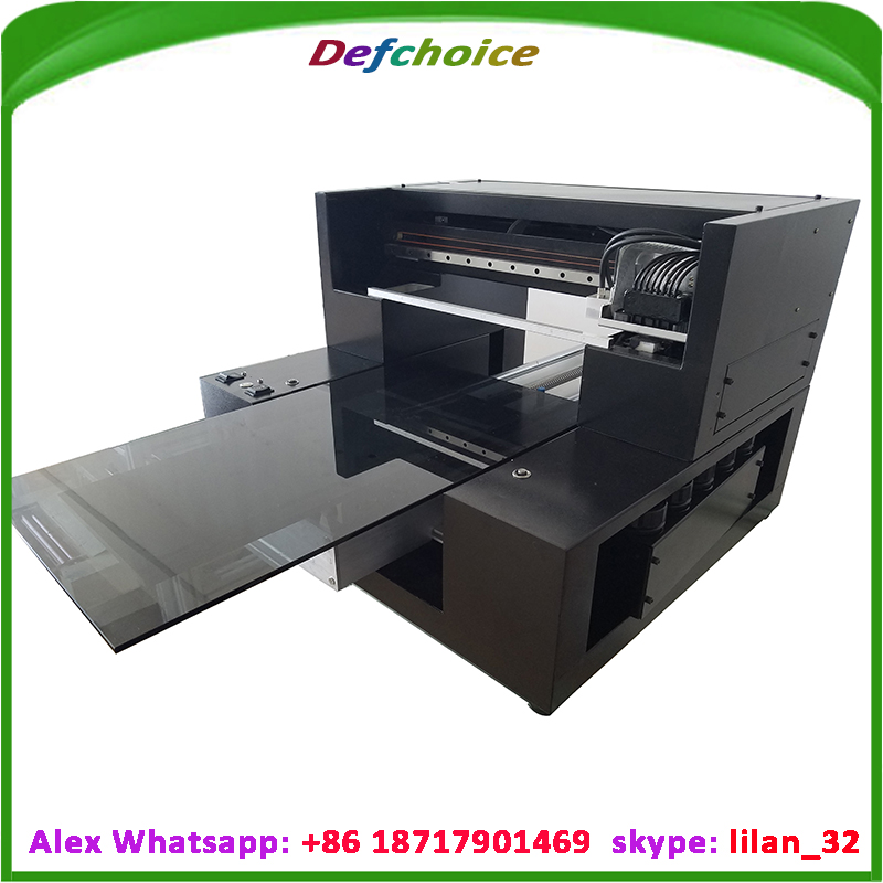 DEF-R1800 UV low cost A3 size UV Printer on bottle, View UV ...