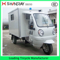 Cargo and passenger Tricycle cheapest adult motor tricycle cargo with closed cabin