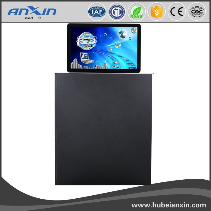 double screen 22 inch motorised monitor lift / LCD lift system