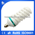 100%Tri-color full sprial energy saving lamp /CFL fluorsecent bulb T6 65W