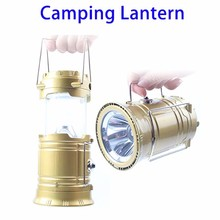 express ali Foldable Camping Solar Emergency Torch Lantern Light