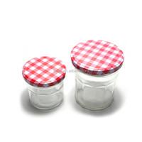 Cheap Price Sealed Hexagonal Jam Glass Mason Canning Jar