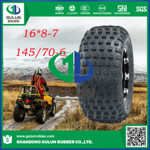 chinese famous swamp atv tyre 16*8-7 145/70-6 19*7-8 mud atv tire for sale